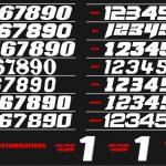 number fonts '17