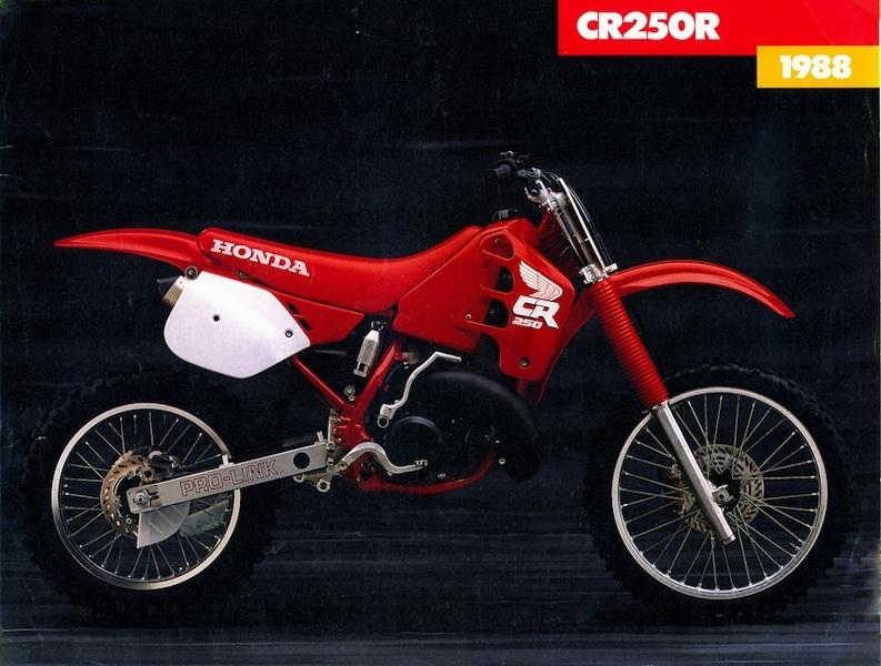 CR '88 HONDA SHROUDS – NineTwoDecals