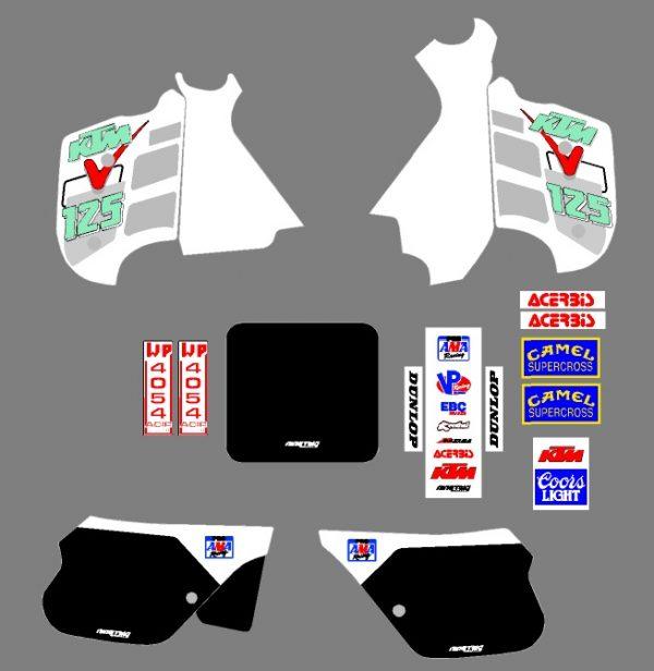 ktm '91 full kit