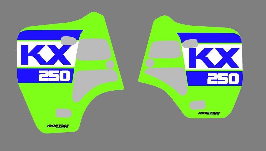 kx250 '88 shrouds