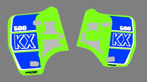 kx500 shrouds '89